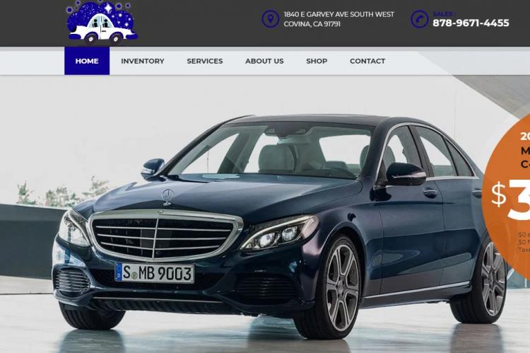 Вебсајт за продавање на возила 6