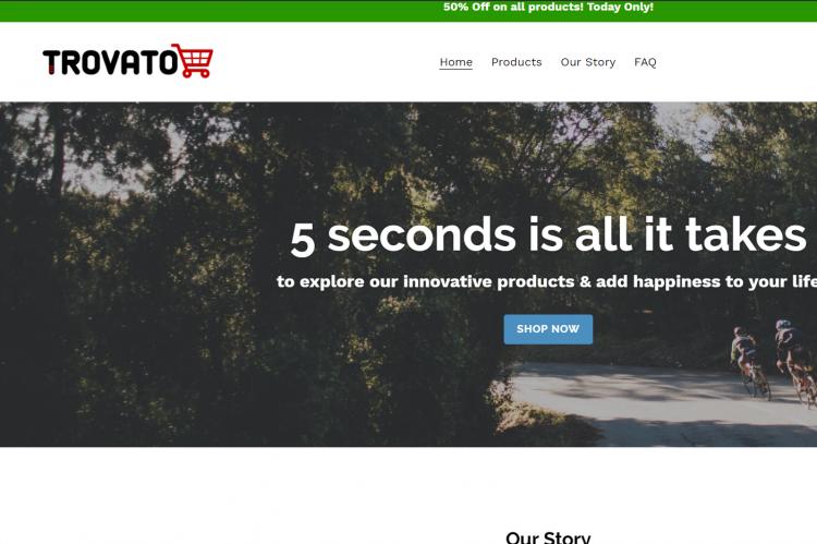 Вебсајт за онлајн продажба 7